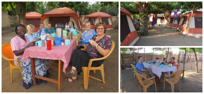 Medical Mission Trip - Camping in Togo